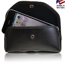 Turtleback Heavy Duty Black Leather Holster Case fits iPhone 5