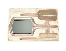 Vintage Stanley Hand Mirror Brush And Comb Set