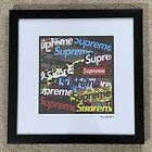 Supreme Fairchild Paris Supreme LTD Limited 33/100 Framed Wall Art 16x16 Bogo