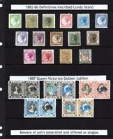 COLLECTION OF 25x GERALD KING 'ALTERNATIVE LUNDY' FANTASY STAMPS