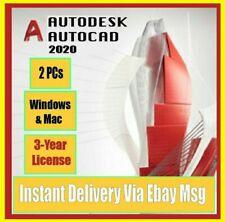 🔥 Autodesk Autocad 2020 License ✅ Lifetime Genuine Key ✅ Express Delivery 🔥