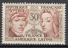 FRANCE TIMBRE NEUF N° 1060 * AMITIE FRANCE AMERIQUE LATINE