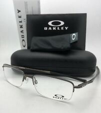 New OAKLEY Eyeglasses CLUBFACE OX 3102-0354 54-17 Semi-Rimless Pewter Frames