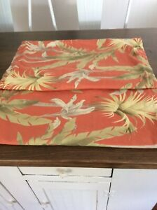 Tommy Bahama Floral Tropical Pillow Shams