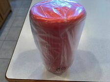 NEW TUPPERWARE INSULATED TUMBLER WITH DRIPLESS STRAW SEAL 24 OZ IN GUAVA (PEACH)