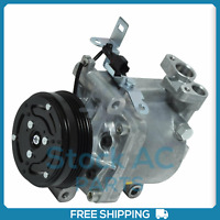 New A/C Compressor fits Subaru Impreza, Forester, WRX.. 2.5L - 2007 to 2014 - QR