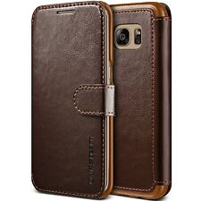 Samsung Galaxy S7 Edge Wallet Case Protective Layered Slim Fit Leather Cover