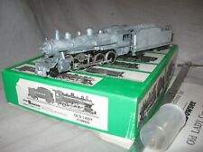 A5169 HO BOWSER 100925 METAL UNDECORATED OLD LADY 2-8-0 STEAM LOCOMOTIVE