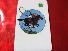TRES RARE TELECARTE NEUVE - 10 Livres - Tintin au far west 6  - 500 exemplaires