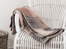 IB Laursen - Quilt Patchwork braun gedruckt