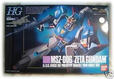 BANDAI MSZ-006 Zeta GUNDAM HG 1/144 MODEL KIT MSZ 006 action figure japan