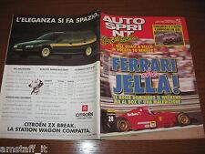 AUTOSPRINT 1994/37=COVER GERARD BERGER FERRARI=TARQUINI ALFA ROMEO CAMPIONI=
