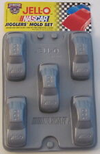 4 Nascar Car Jello Jigglers Mold Trays with 5 cars per mold for total of 20 cars