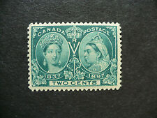 Stamp / Timbres du Canada Diamond Jubille Issue 2 cent deep green (Unitrade 52i)