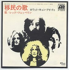 "Led Zeppelin - Immigrant Song c/w Hey, Hey, What Can I Do 7"" JAPAN 45 #2"