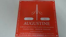 Augustine Regal Red Classical Guitar Strings - Medium Tension Bass, Medium Tensi