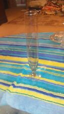 "Smoke Gray 10"" Bud Vase Champagne Flute"