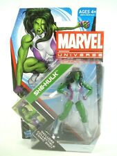 "MARVEL UNIVERSE - S4 #012 She-Hulk 3.75"" inch Action figure NEW Sealed F4"