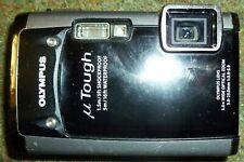 Olympus black Stylus Tough 6020 Digital Camera