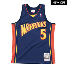 Baron Davis Golden State Warriors Hardwood Throwback Nba Swingman Jersey