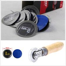 30pcs/Set Car Motorcycle Bicycle Tire Repair Rubber Patch +1pc Roller DIY Repair