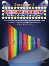 BOOM BOOM! BOOMWHACKERS ON BROADWAY-INSTRUCTION MUSIC BOOK/CD BRAND NEW ON SALE!