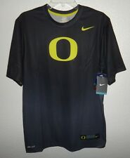 Nwt Mens M Nike Dri-Fit Oregon Ducks Team Issued Athletic Shirt Legend New Day