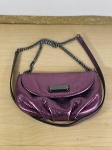 Marc Jacobs Pink Metallic Crossbody Bag