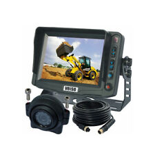 "5"" Monitor FORKLIFT TRUCK Rear View Backup Camera kit With Dome CCD Camera"