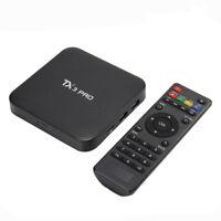 S905X TX3 Pro OTT Smart TV Box Android 6.0 Quad Core 8GB WIFI 4K Media Player GY
