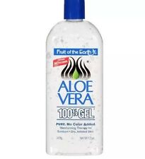 Pure Fruit Of The Earth Aloe Vera Gel No Color Added - 12 Oz FAST SHIPPING!!