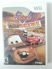 FREE SHIPPING! Cars: Mater-National Championship Nintendo Wii 2007 Complete CIB