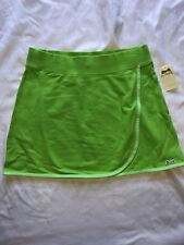New with Tag Women's/Junior Le Tigre Tennis style skirt Neon Green SIZES: S,M,L