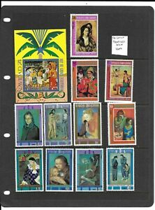 Equatorial Guinea Paintings selection used