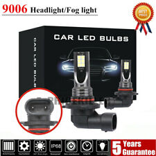Pair 9006 LED Headlight Kit 110W 20000LM FOG Light Bulb 6000K Driving DRL Lamp