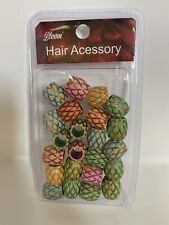 Hair Accessories: Wooden Beads For Hair ASSORTED (25pcs per pk)