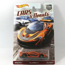 McLaren P1 Hot Wheels Cars & Donuts Car Culture Real Riders 1:64 Scale Model Toy