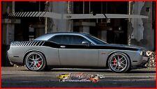 Factory Stripe Dodge Challenger Back Slide Automotive 3m Graphic Decal 2008 2015