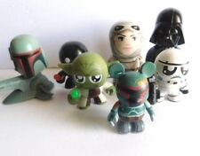 STAR WARS: lot of 5 collectables  Mighty Muggs ,Bebots , etc.