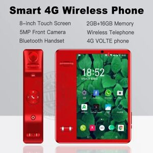 Smart 4G VOLTE 8 inch touch 2G 16G Land phone Bluetooth portable limited edition