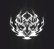 Sticker car moto biker bomb jdm decal bumper tuning tiger vinyl tribal  r1