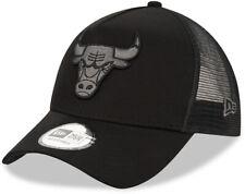 Nueva Era Chicago Bulls Equipo de la NBA Negro A-Frame Gorra Camionero