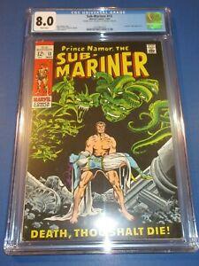 Sub-Mariner #13 Silver age CGC 8.0 VF Beauty Super Rare Double Cover Wow!