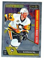 2016-17 O-Pee-Chee OPC Platinum #177 TOM KUHNHACKL RC Rookie Penguins