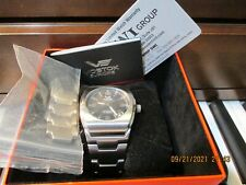Vostok Europe Pobeda Watch Unisex Stainless Steel Automatic Black Dial 39mm