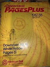 Michigan Bell Downriver Area White Yellow Pages 1988 313