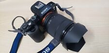 Sony Alpha A7 Mirrorless Digital Camera With FE 28-70mm lens(Battery & charger)