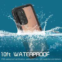Für Huawei P40 P30 Pro Armor PC+TPU IP68 3M Wasserdicht Wasserfest Handy Hülle