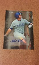 2014 bowman sterling Kyle Schwarber autographed card. Card BSPA-KSC. Cubs.