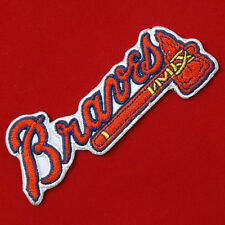 "4.00""x1p. A atlanta braves tomahawks embroidered iron on or sew on patch"